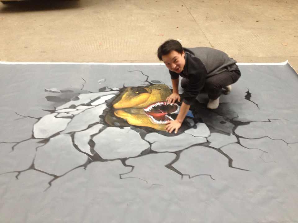 3d立体画-千本色墙绘彩绘公司_一站式彩绘专业艺术机构