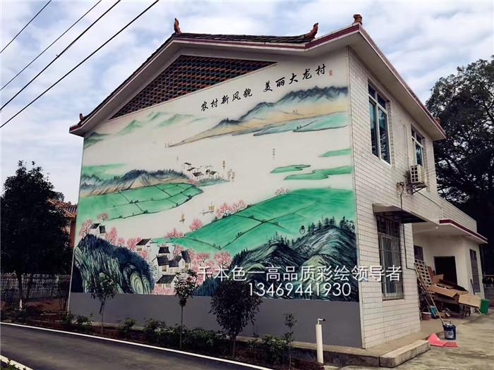 美丽乡村手绘文化墙